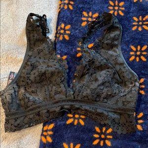 Victoria secret Black lace brallette